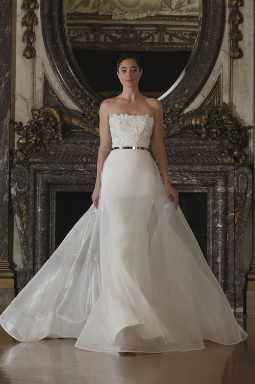 RK6403 | Romona Keveza Luxe Bridal Spring 2016