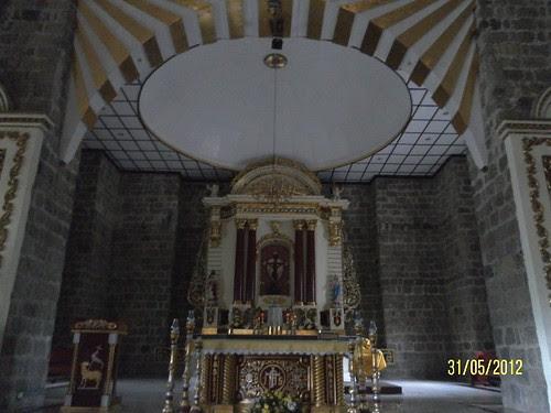main altar, Sta Maria Magdalena Church