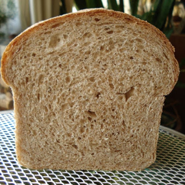 50% Whole Wheat Sandwich Bread recipe | Epicurious.com