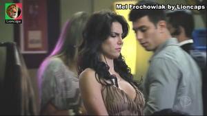 Mel Fronchowiak sensual na novela Rebelde