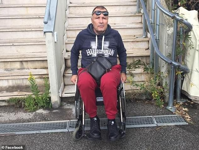 Italian Conman Who 'Spent 12-Years In A Wheelchair To Fake Disability' Is Caught Walking Through The Airport Without Assistance (Photos/Video)