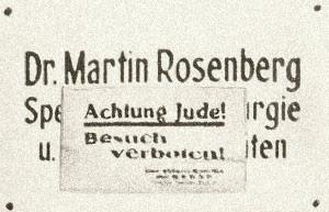 Praxisschild Dr. Martin Rosenberg