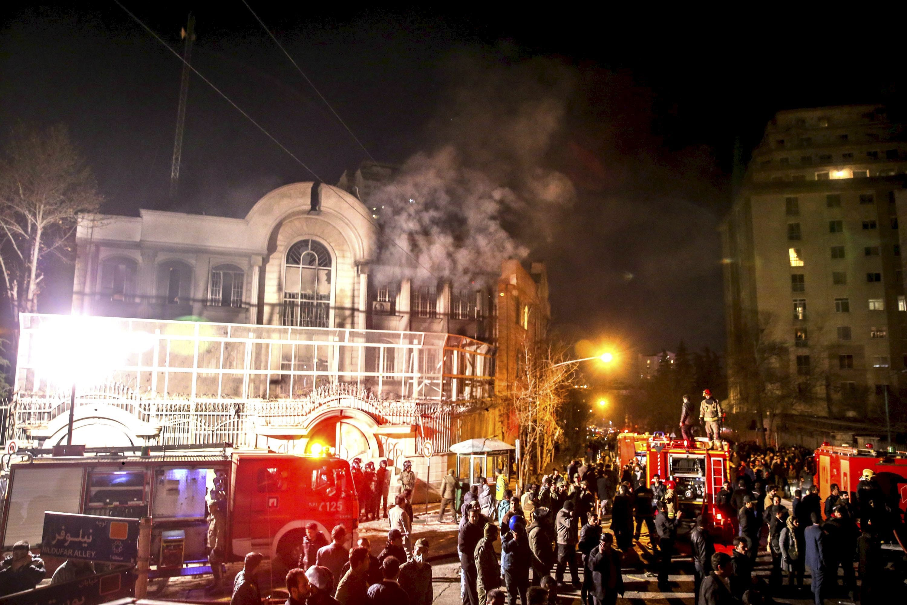 Saudi embassy Iran