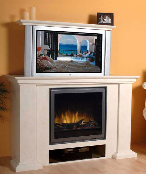 Scribebem Fireplace Designs With Tv