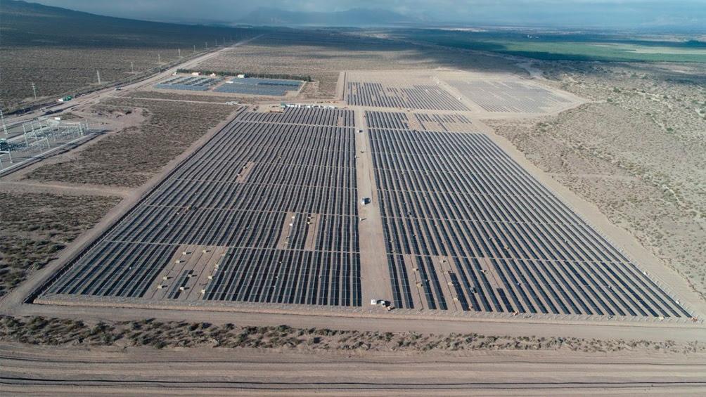 Resultado de imagen para Comenzó a operar el Parque Solar Ullum IV