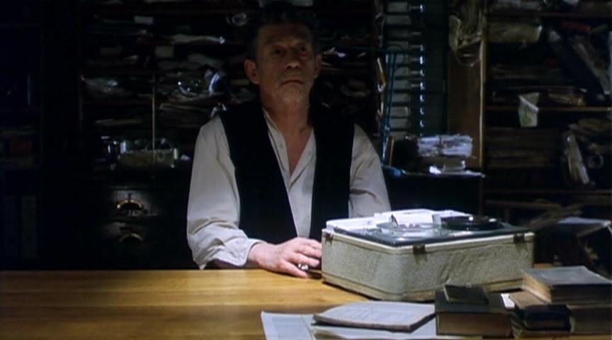 Beckett on Film: Krapp's Last Tape