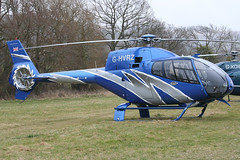 G-HVRZ - 2003 build Eurocopter EC120B Colibri, at the 2010 Cheltenham Festival
