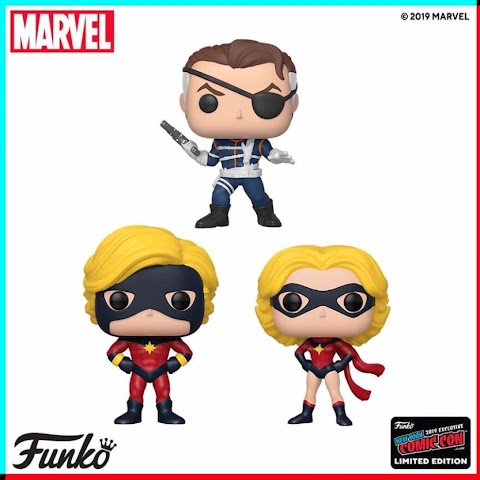New York Comic Con 2019 Funko Pop