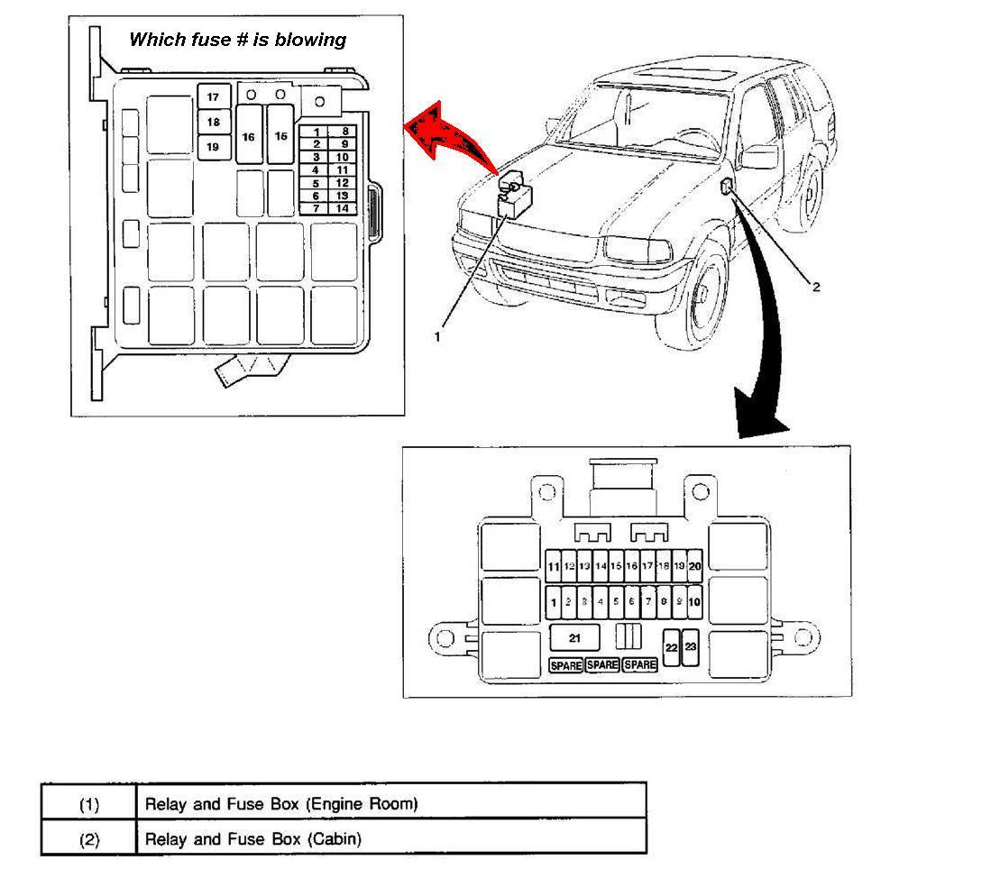 32 1999 Isuzu Npr Fuse Box Diagram - Wiring Diagram List
