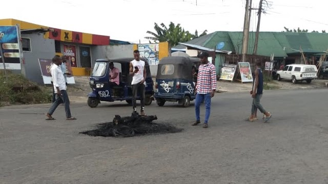 Three suspected thieves burnt to death in Calabar