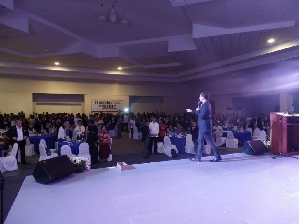 The VoiceMaster Inspiring Hundreds of Young People in the Global Youth Forum