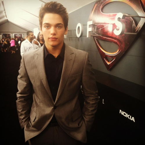 Dylan Sprayberry (Young Clark Kent) - MAN OF STEEL PREMIERE, NY.