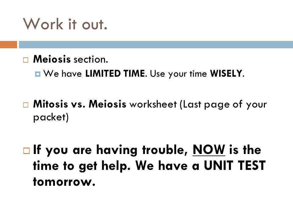 Mitosis Vs Meiosis Worksheet Answers - Promotiontablecovers