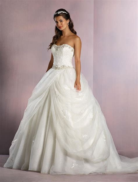 Alfred Angelo Disney 254/Belle wedding gown