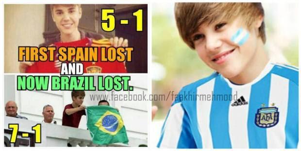 Fotofoto meme Argentina vs Jerman Final Piala Dunia 2014  SI MOMOT