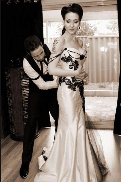 Beautiful victorian gothic wedding dress. http://m.flickr