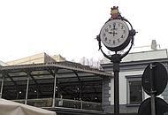 L'orologio della stazione di Montesanto