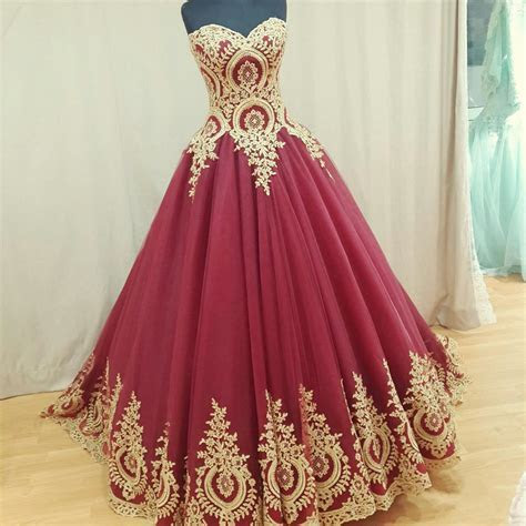 Wine Red Wedding Dress,burgundy Wedding Gowns,ball Gown