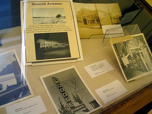 Napa Historical Society Exhibit