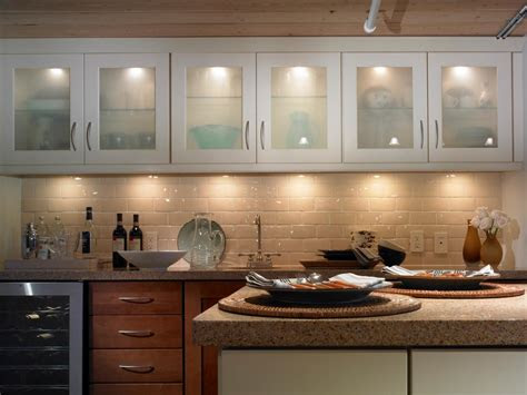 tips decor ideas design   kitchen cabinet led