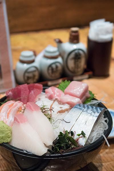 Sandaime Bunji Cheap Sashimi