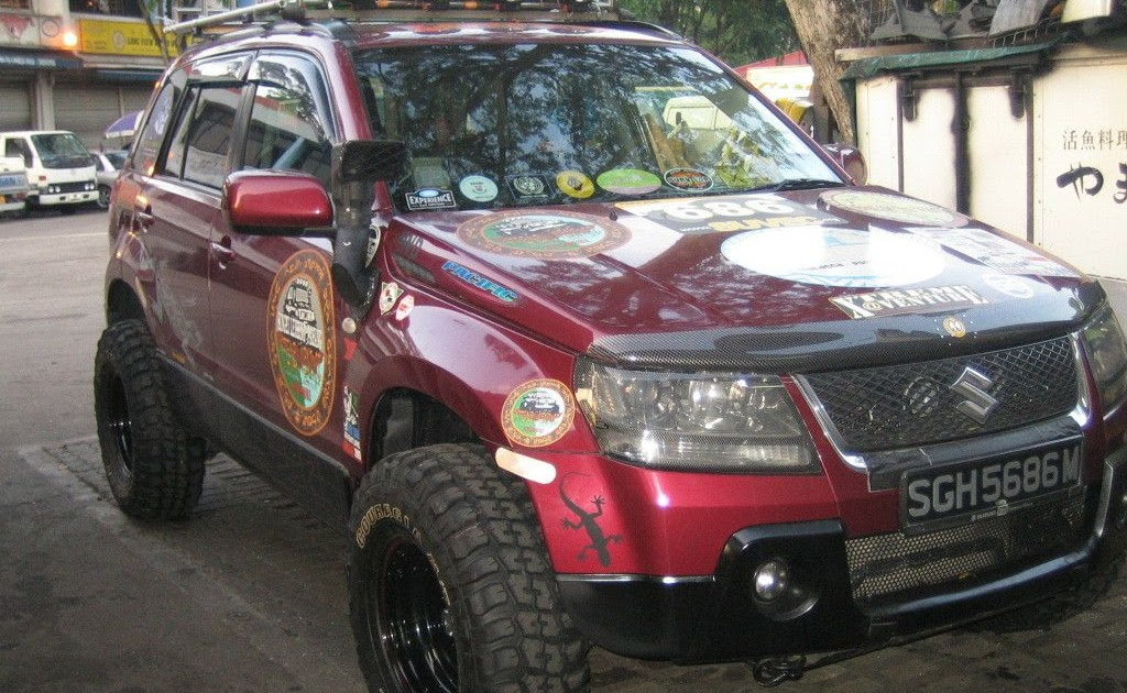 Lift kit increased ground clearance for  Suzuki SX4 2006