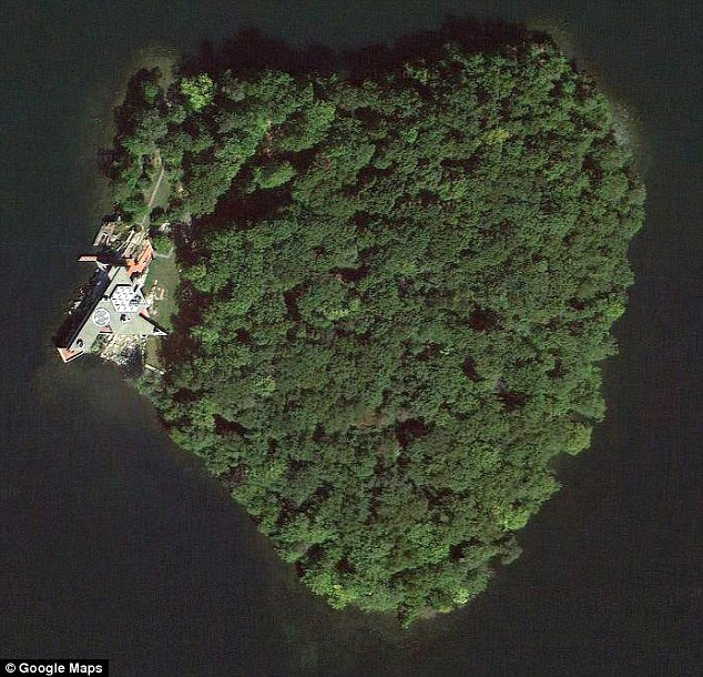 I love you this much: Angelina Jolie has reportedly bought heart-shaped Petra Island as a 50th birthday gift for partner Brad Pitt