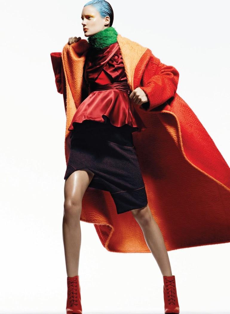 Ashtyn Franklin 'Flashdance' By Moo For Elle Canada 5