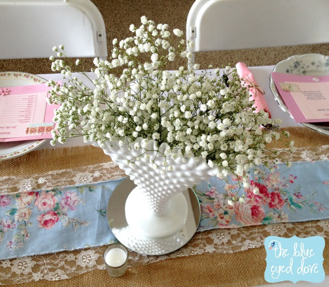 The Blue Eyed Dove A Shabby Chic Bridal Shower Part 1 The Blue