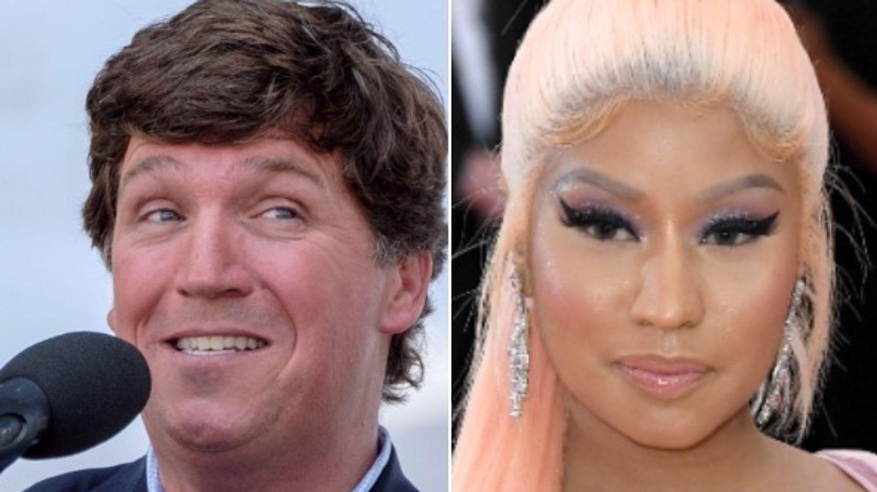 Tucker Carlson Makes On-Air Plea To Swollen-Testicled Friend Of Nicki Minaj's Cousin