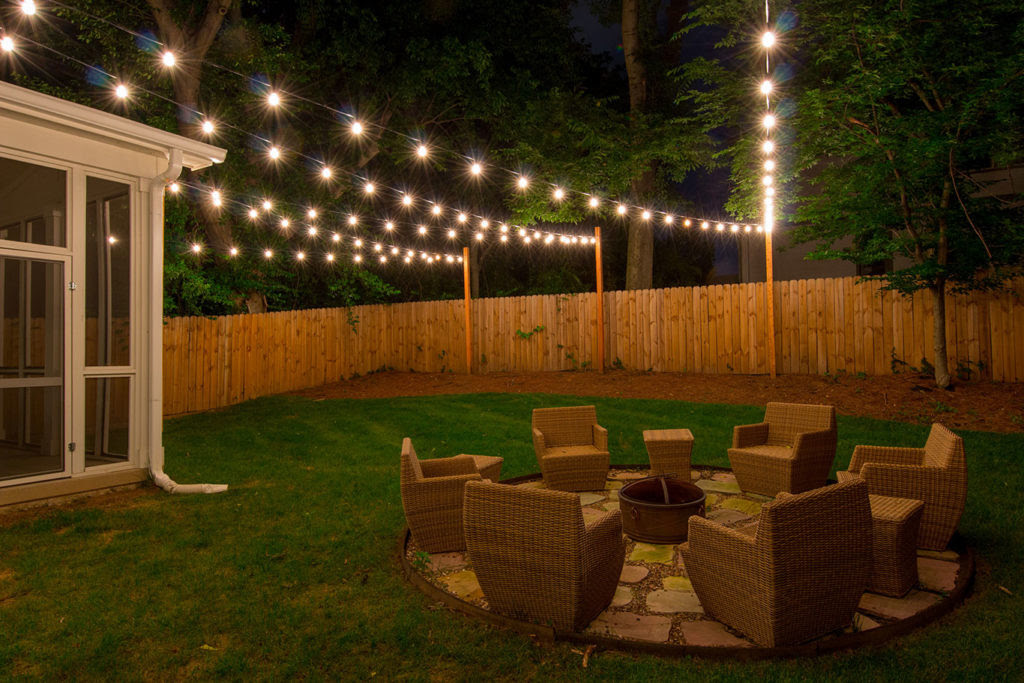 Custom String Lights  Light Up Nashville  Outdoor String Lighting
