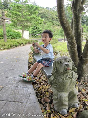 茶郊媽祖 石雕公園 新北坪林親子遊景點