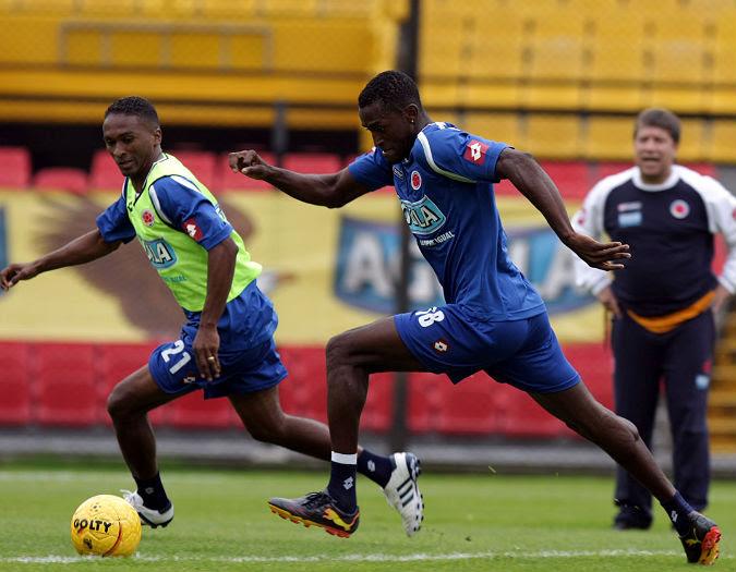 El Once Caldas aportará seis jugadores a la Selección Colombia que se medirá ante Bolivia. - Colprensa / Enlajugada
