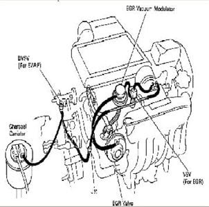 96 Toyotum Camry Engine Diagram - Wiring Diagram Networks