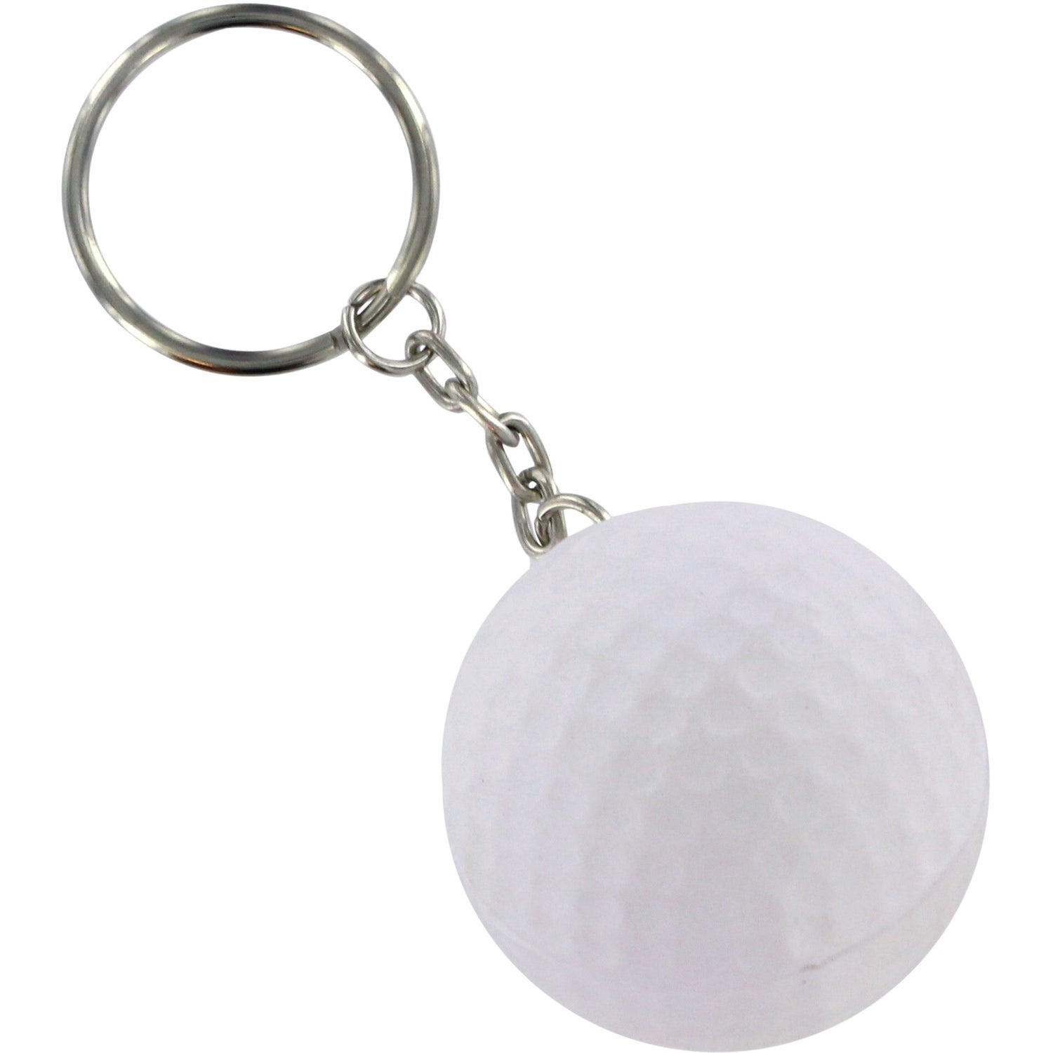 Promotional Golf Ball Stress Ball Key Chains with Custom Logo for ...
