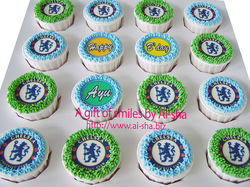 Birthday Cupcakes Edible Image Chelsea
