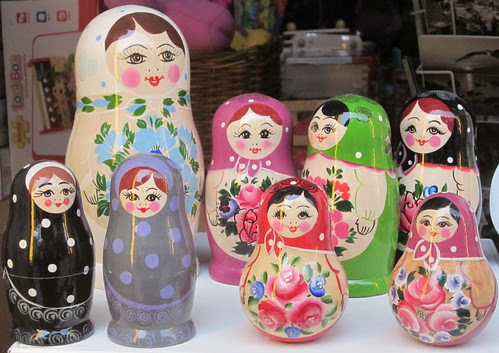Russian dolls by Anna Amnell