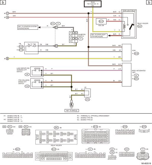 Subaru Transmission Wiring Diagram