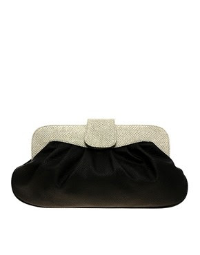 Image 1 of ASOS Faux Frame Clutch