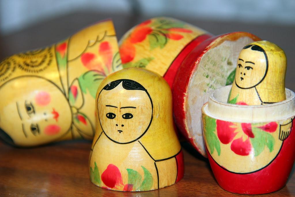 La matrioska o muñeca rusa