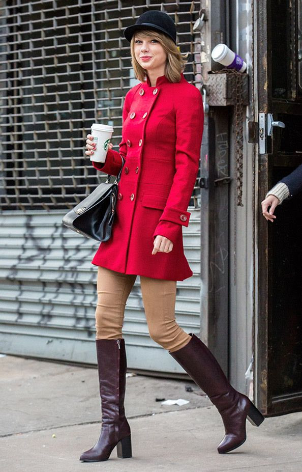 Taylor Swift Sports an Equestrian Look for a Whole Foods Run in Advance of Her Girls' Weekend  #InStyle