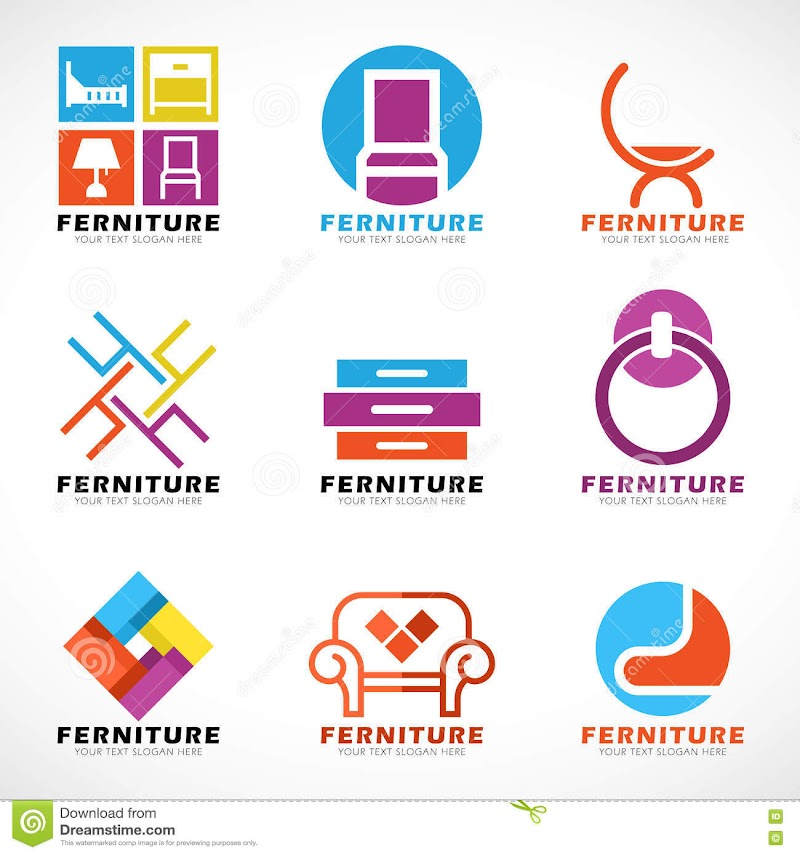 Best Of Furniture Vector Logo pictures