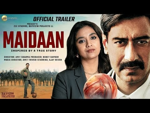 Maidaan | Official Concept Trailer | Ajay Devgan | Priyaman | Boney Kapoor | Zee Studios | 2021 |