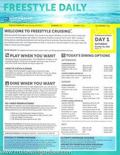Norwegian Getaway Freestyle Daily   Cruisin