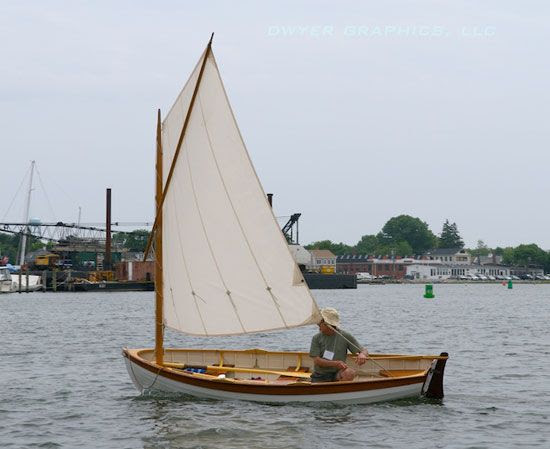 Catspaw Dinghy - small, wooden, classic | Wooden Boats | Pinterest