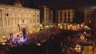 Festa del 27-O a Sant Jaume