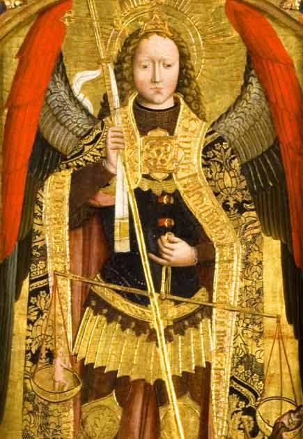 San Michele, polittico di Giovanni Canavesio