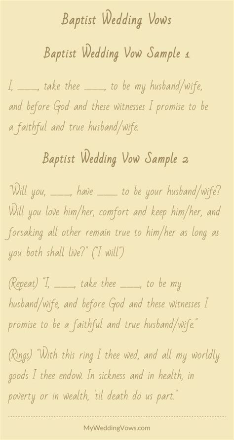 17 Best ideas about Traditional Wedding Vows on Pinterest
