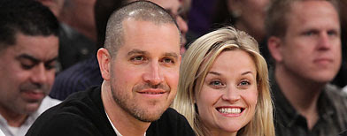 Jim Toth and Reese Witherspoon (Noel Vasquez/Getty Images)