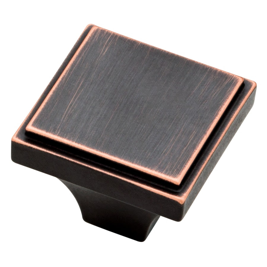 Shop Brainerd Bronze with Copper Highlights Square Cabinet ...